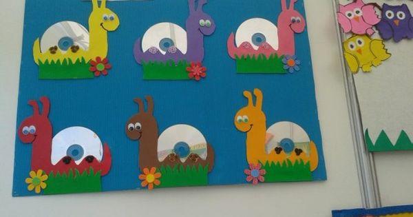 cd snail craft prace plastyczne