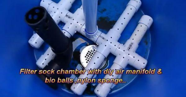 Home Made Koi Pond Filter With Uv Light Filter Ponds