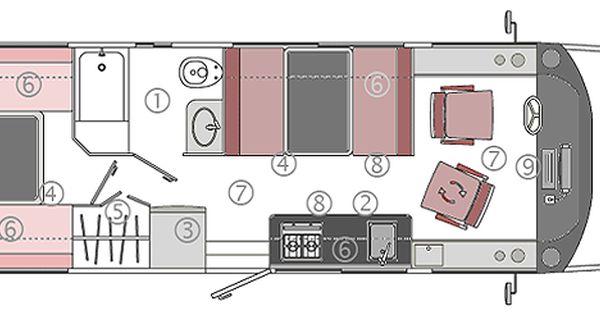 Noticia Para Disfrutar De Viajes Largos Mini Casas Rodantes Casa Rodante Remolques De Camping Planos