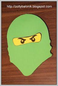 Ninjago Zolty Balonik Przygotowania Ninjago Einladungskarten Kinder Geburtstag Ninja Geburtstag