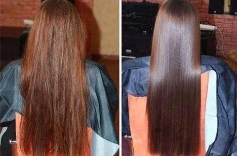 Healthy Hair Mask, DIY at Home Beauty Treatment. Mix a tsp of