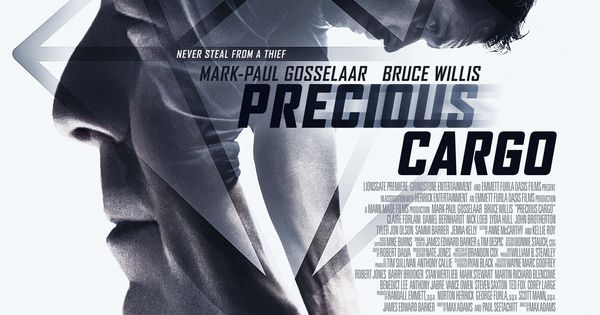 New movie poster for Precious Cargo, starring Bruce Willis ...