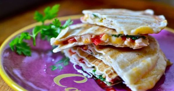 Quesadillas | My kind of food. | Pinterest | Quesadillas, Texans and ...