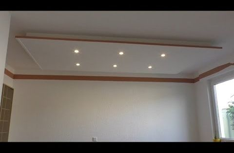 decke abh ngen und led strahler und led strips light einbauen youtube zuk nftige projekte. Black Bedroom Furniture Sets. Home Design Ideas