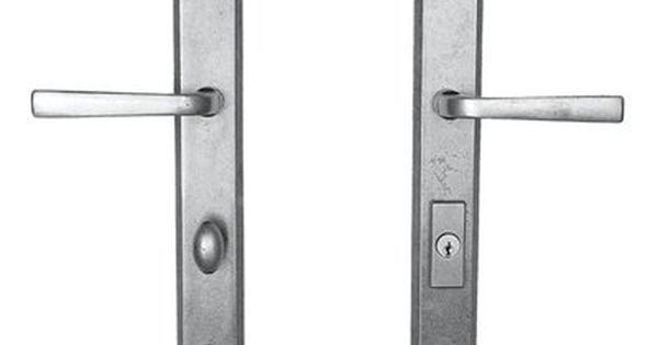 Continental Hardware Manufacturing 06 1 Monaco Multipoint Trim Front Door Handle Door Handles Front Door Handles Lowes Home Improvements