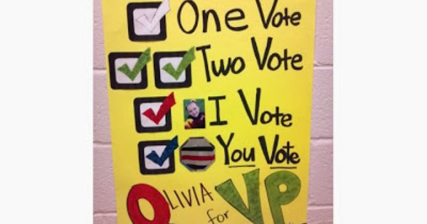 Classroom Representative Ideas : I think might do this for student council poster give me