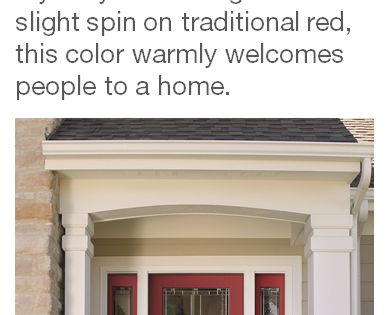 Show Stopper By Sherwin Williams One Of The Front Door