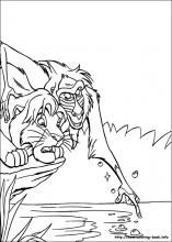 The Lion King Coloring Pages On Coloring Book Info King Coloring Book Horse Coloring Pages Lion Coloring Pages
