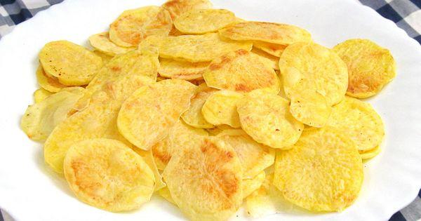 Patatas chips como las de bolsa hechas por ti mismo en for Comidas hechas en microondas