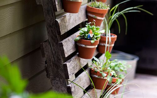 Pallet Planter | Vertical Flower Pot Garden