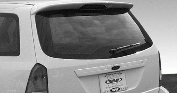 Need One Of These Ford Focus Wagon Vis Racing W Type Roof Spoiler