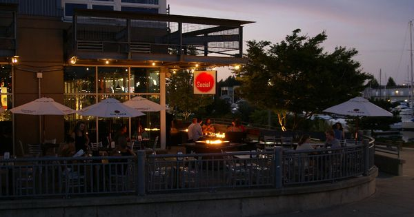 The social at night the social bar and grill tacoma pinterest