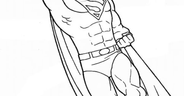 Printable Superman Man Of Steel Coloring Pages School