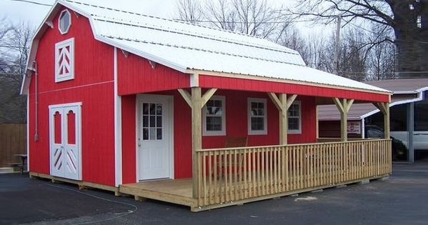 These Houses Actually Inexpensive Barn Sheds Home Ideas