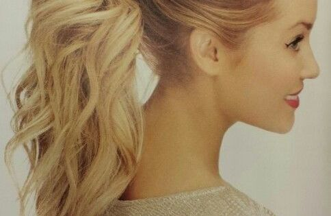 10 Cute Ponytail Ideas: Summer and Fall Hairstyles for Long Hair |