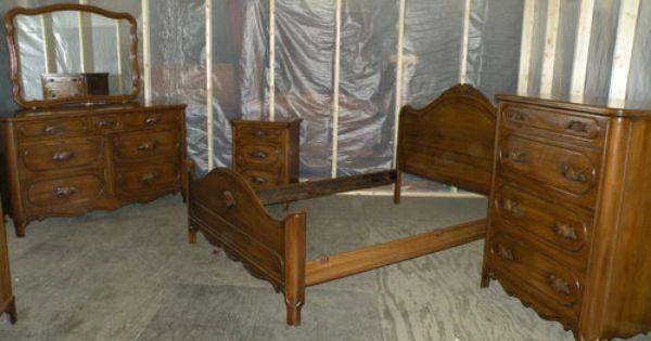 Antique Davis Cabinet Company Bedroom Set Lillian Russel Antiques Pinterest Cabinet Companies