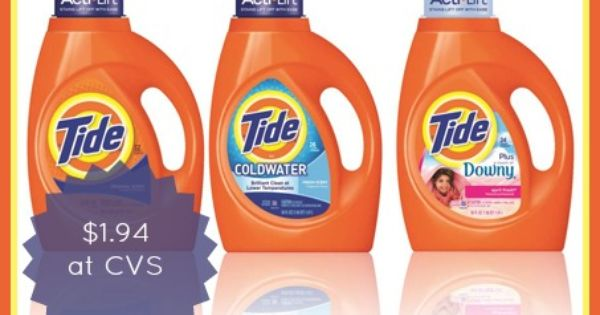 Tide Laundry Detergent As Low As 1 94 Starts 6 29 Tide