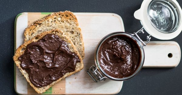 Recette tartinade choco noisettes maison 2x moins de - Nutella maison cuisine futee ...