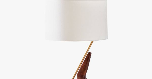 West Elm Caldas Table Lamp Walnut Lamp Table Lamp Classic Table Lamp