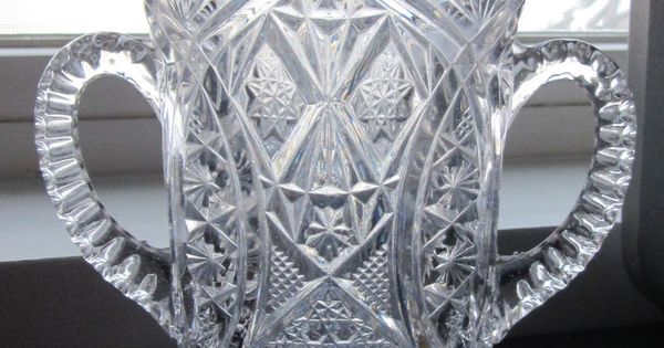 Higbee Spooner Alfa Rexford Clear Pressed Glass Eapg 1910