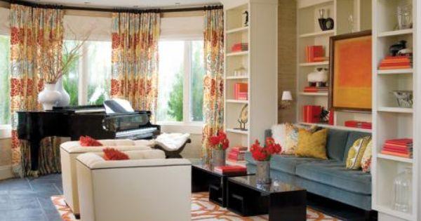 Colorful Living Room Living Room Orange Rugs In Living Room Living Room Designs