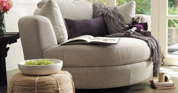 Snuggle Chair Featuring Astral Fabric In Platinum Want