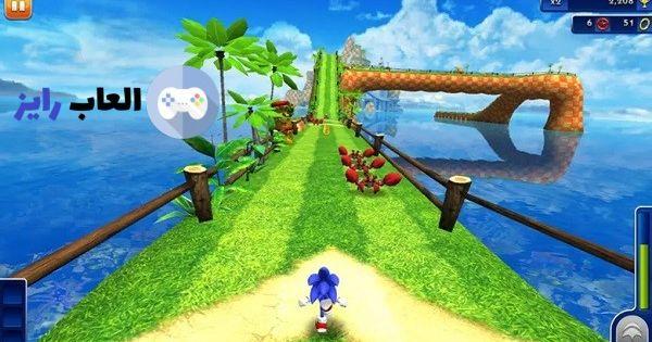 تحميل لعبة سونيك داش من ميديا فاير لعبة Sonic 1 2 Sonic Dash Free Games Sonic