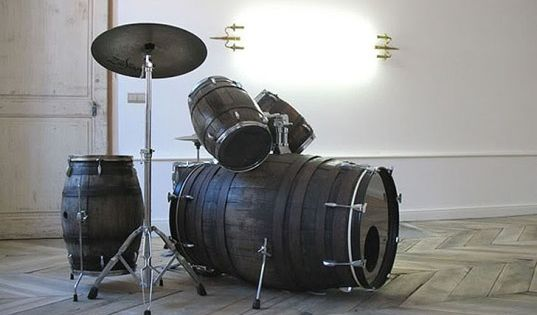 Wine barrel drums. This combines my passion for wine and drums :)
