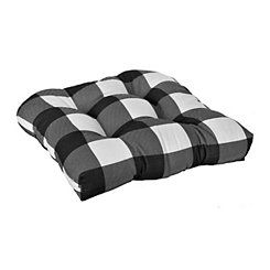 White Buffalo Check Outdoor Cushions Set Of 3 Outdoor Cushions Outdoor Furniture Cushions Outdoor Furniture Sale