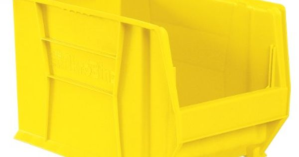 Akromils 30282 20inch D By 12inch W By 12inch H Super Size Plastic Stacking Storage Akro Bin Yellow Case Of 2 More Info Could Be Storage Stacking Bins Storage Baskets