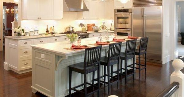 Kitchen narrow kitchen island and kitchen island furniture - Narrow kitchen island with seating ...
