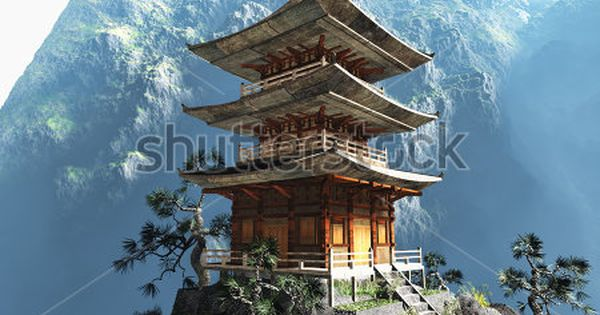 Buddhist Zen Temple Temple Poster Japanese Temple Tattoo Japanese Temple