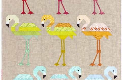Florence Flamingo Designed By Elizabeth Hartman Features