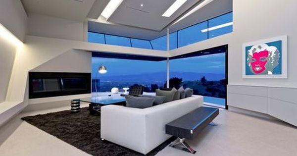 Casa Futurista En Los Angeles Futura Casa Arquitectura Diseno
