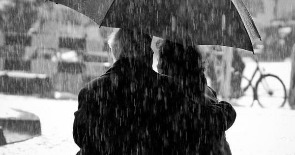 No relationship is all sunshine, but two people can share one umbrella