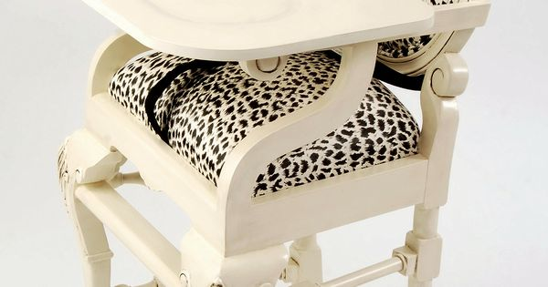 Fancy, Animal Print High Chair