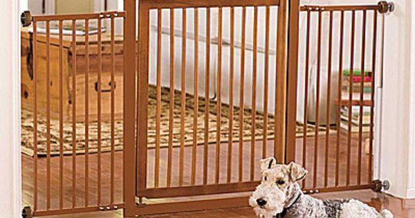 Extended WalkThrough Pet Gates New Puppy Pinterest