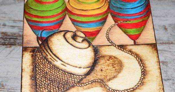 Caja de madera dibujo peonza modelo original y exclusivo - Decoracion hogar original ...