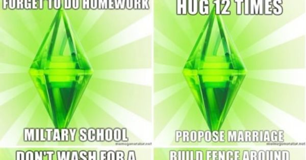 The Sims' logica