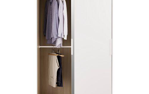 morvik wardrobe white mirror glass ikea ikea. Black Bedroom Furniture Sets. Home Design Ideas