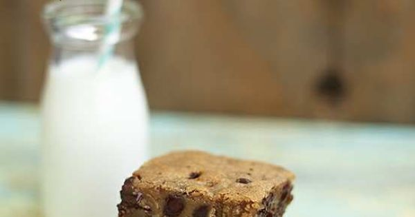 malted chocolate chip cookie bars | Cookies | Pinterest | Chocolate ...