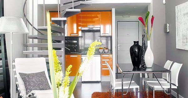 Dise o de apartamento tipo loft peque o decoracion - Diseno de apartamentos pequenos ...