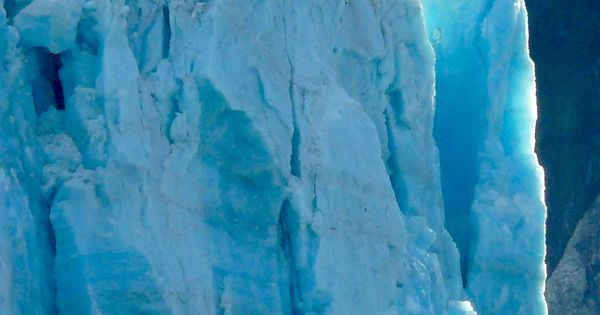 The ice stands tall when your ship cruises Hubbard Glacier in Alaska.