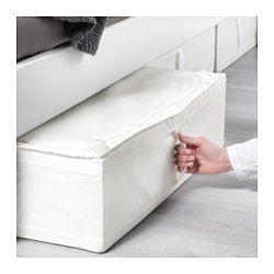 Skubb White Storage Case 69x55x19 Cm Ikea Comforter Storage Pillow Storage Bed Linen Design