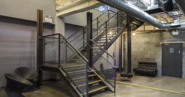 1rebel Studio C102 Architecture Design Archello Gym Design Interior Gym Architecture Industrial Staircase Design