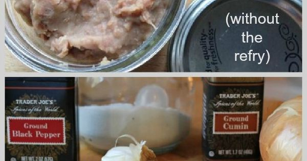Crockpot refried beans, Refried beans and Nostalgia on Pinterest