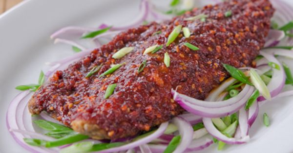 Gogalbi - grilled mackerel with spicy tangy sauce | Food | Pinterest ...