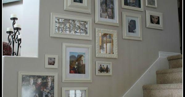 bilderordnung im treppenhaus deko pinterest haus. Black Bedroom Furniture Sets. Home Design Ideas