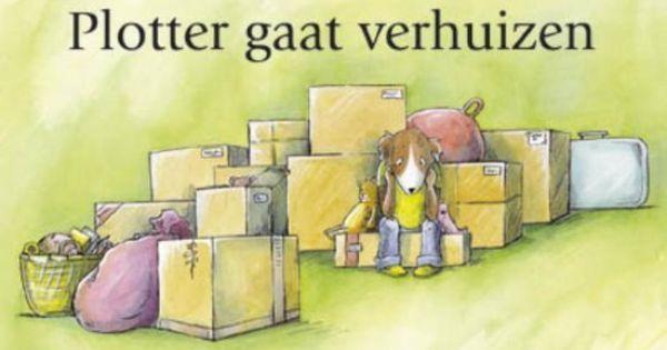 Thema dozen boek 39 plotter gaat verhuizen 39 kdv wonen bouwen boeken pinterest dozen huizen - Doos huis wereld ...