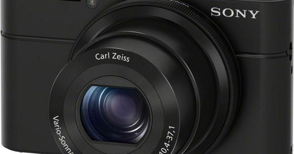 Cyber-shot DSC-RX100 I High Performance Compact Camera - Black - studio profi küchenmaschine